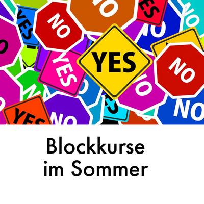 Blockkurse im Sommer