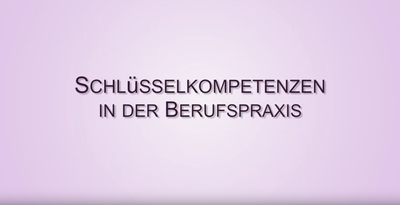 Titelbild Youtube Video Schlüsselkompetenzen