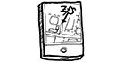 Zeichnung in schwarz-weiß: Welche Räumlichkeiten stehen mir zur Verfügung?