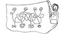 Schwarz-weiss-Zeichnung: Ausgestaltung der Lehre