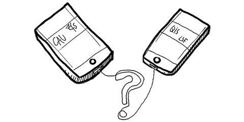 Zeichnung in schwarz-weiß: Wie studiere ich die Fachergänzung?